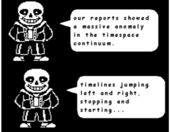 fight with sans