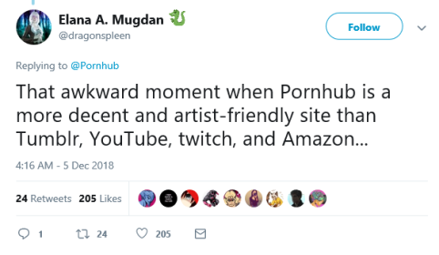 tweet 4 pornhub